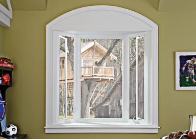 Bay Window with Casement Windows