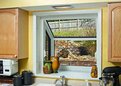 Garden Window in Kitchen